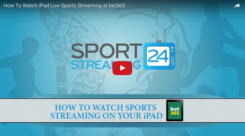 bet365 iPad Live Sports Streaming | How to Watch Tutorial