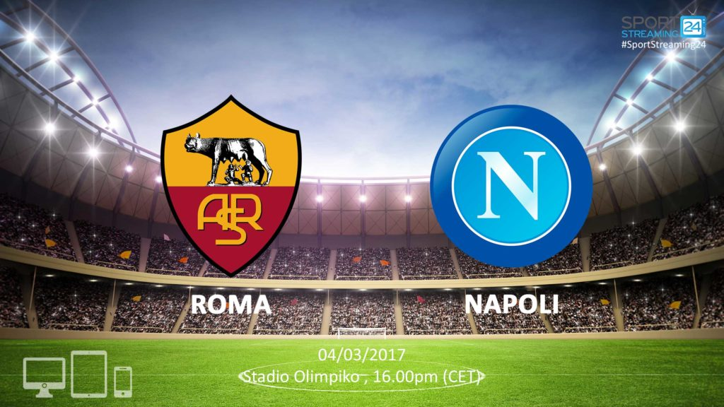 Thumbnail image for Roma vs Napoli Live Stream