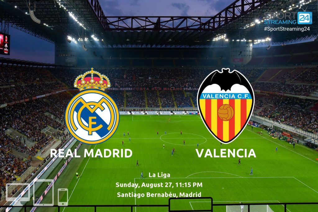 Thumbnail image for Real Madrid v Valencia Live Stream La Liga