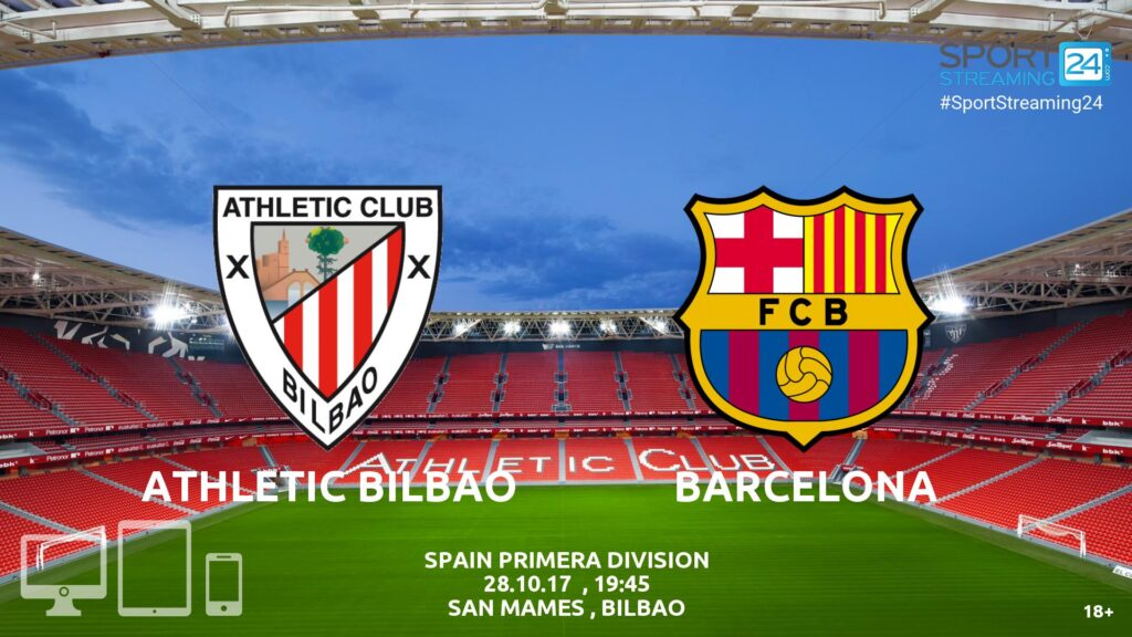 Thumbnail image for Athletic Bilbao v Barcelona Live Stream (Match Review and News)