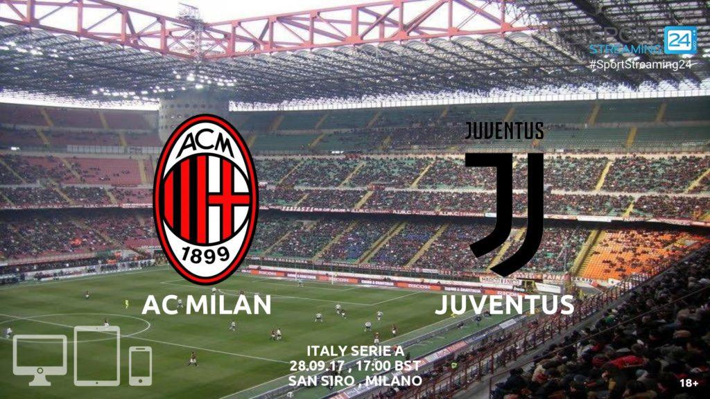 Thumbnail image for Milan v Juventus Live Stream Serie A
