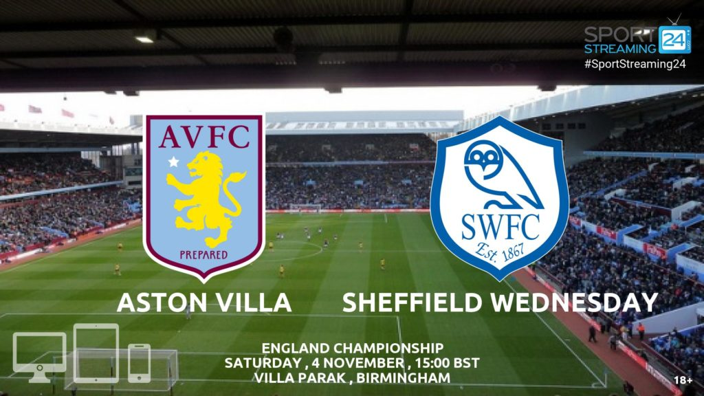 Thumbnail image for Aston Villa v Sheffield Wed Live Stream Championship