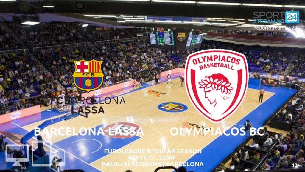 Thumbnail image for Barcelona v Olympiacos Live Stream Euroleague