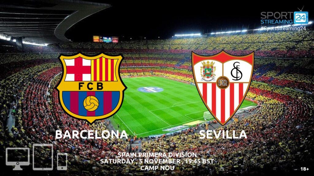 Thumbnail image for Barcelona v Sevilla Live Stream La Liga