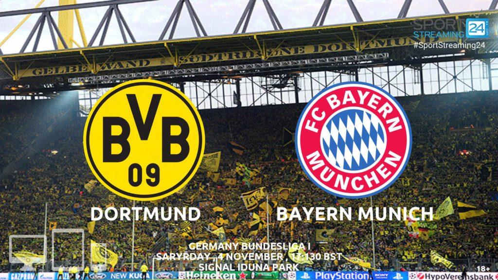 Thumbnail image for Borussia Dortmund v Bayern Munich Live Stream