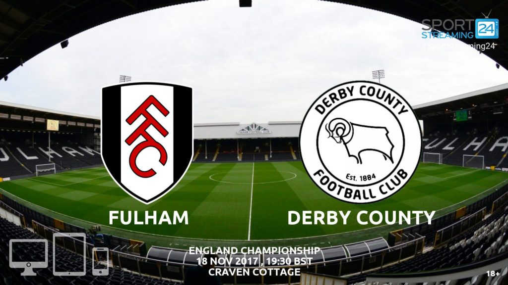 Thumbnail image for Fulham v Derby Live Stream Championship