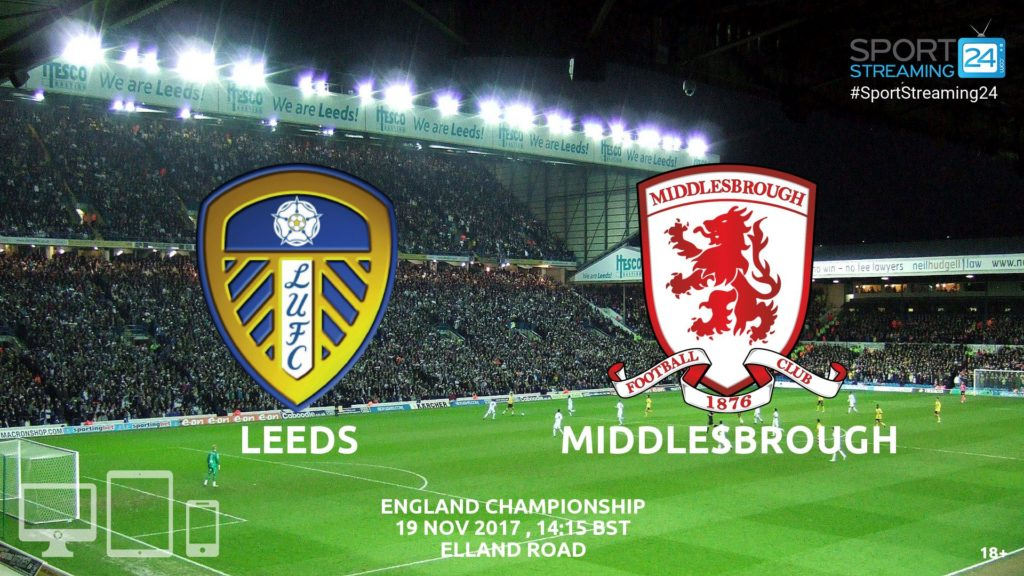 Thumbnail image for Leeds v Middlesborough Live Video Streaming Championship