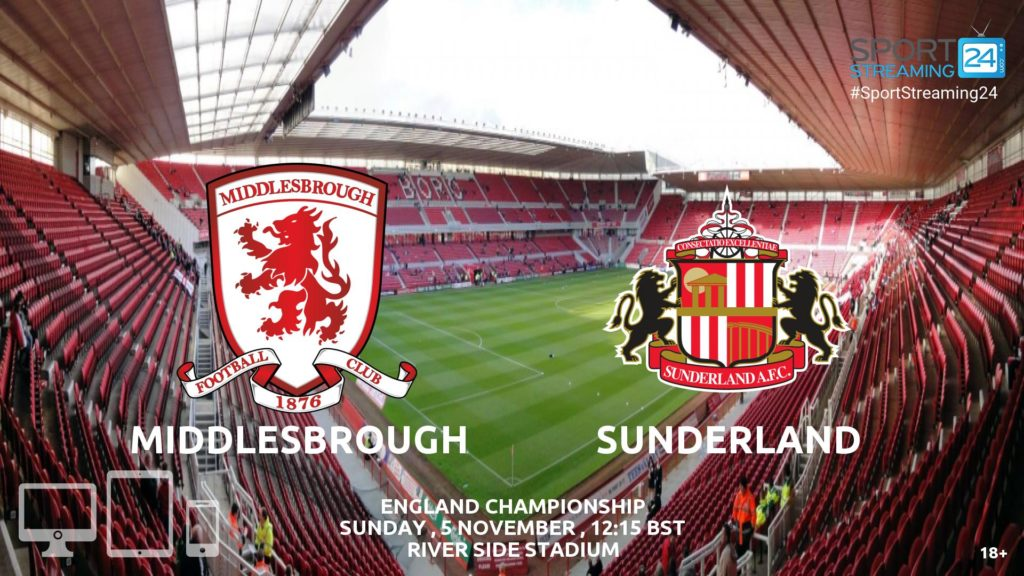 Thumbnail image for Middlesbrough v Sunderland Live Stream Championship