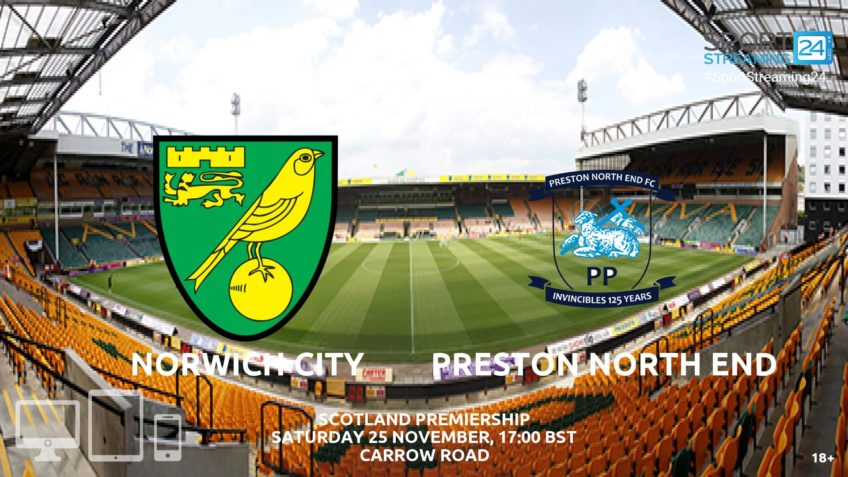 Thumbnail image for Norwich v Preston Live Streaming Championship