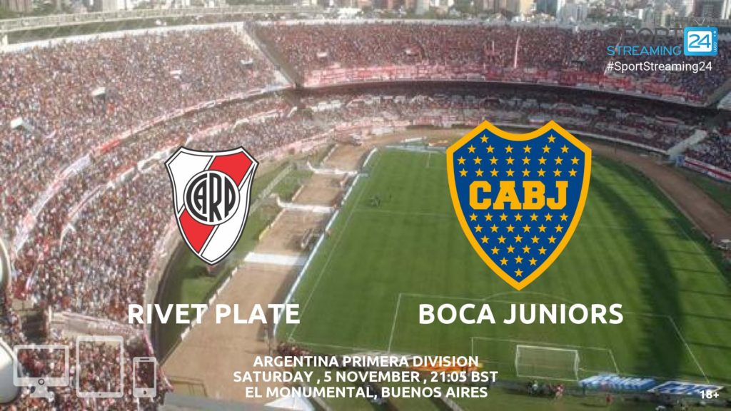 Thumbnail image for River Plate v Boca Juniors Live Stream Primera