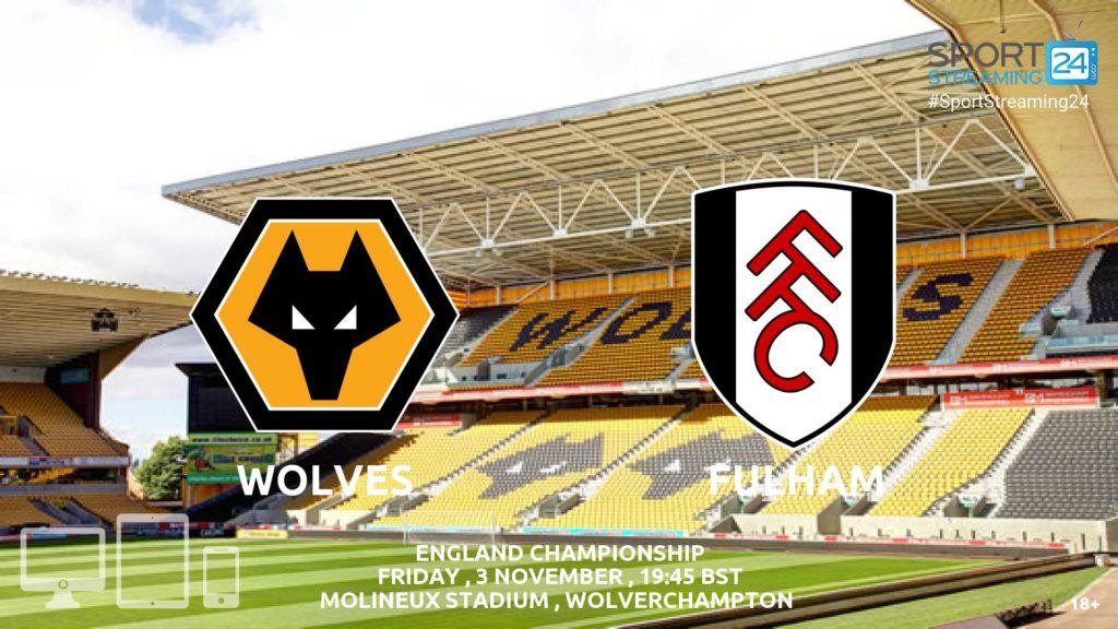 Thumbnail image for Wolves v Fulham Live Stream Championship