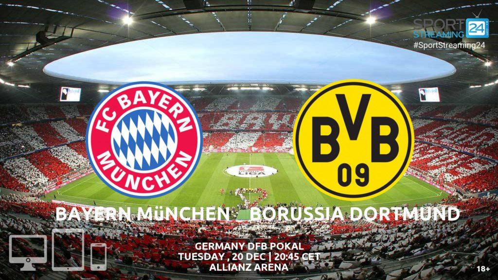 Thumbnail image for Bayern Munich v Borussia Dortmund Live Stream