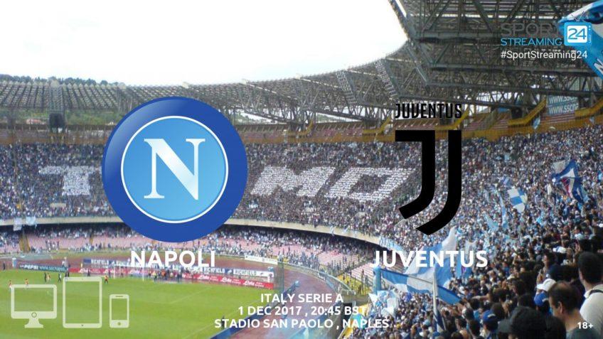 Napoli Juventus live streaming video online free