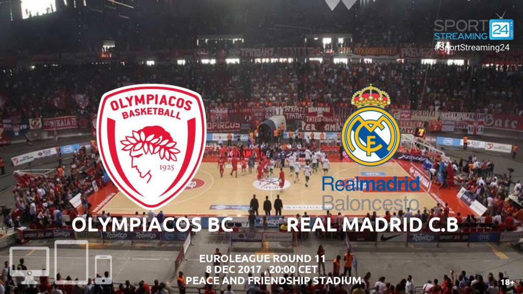 Thumbnail image for Olympiacos v Real Madrid Live Stream