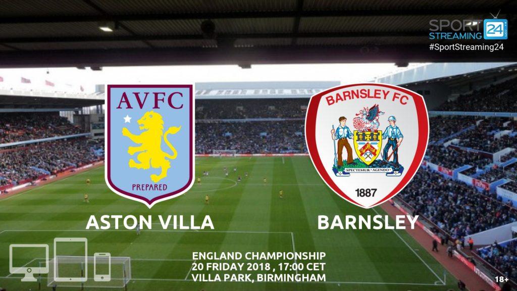 Thumbnail image for Aston Villa v Barnsley Live Stream