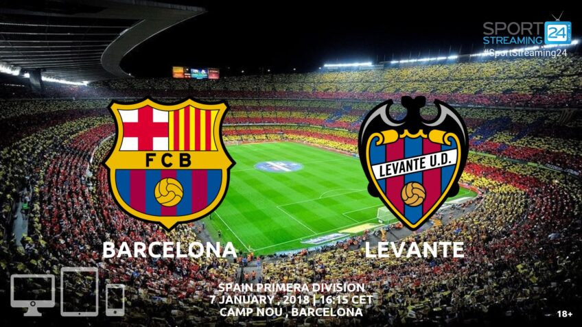 watch barceloba levante live video free stream