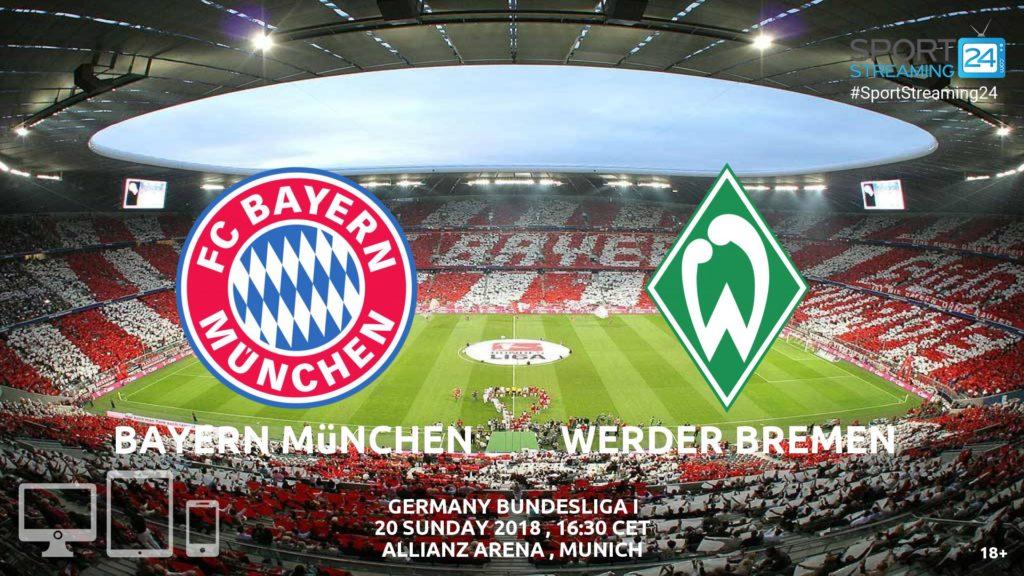 Thumbnail image for Bayern Munich v Werder Bremen Live Stream