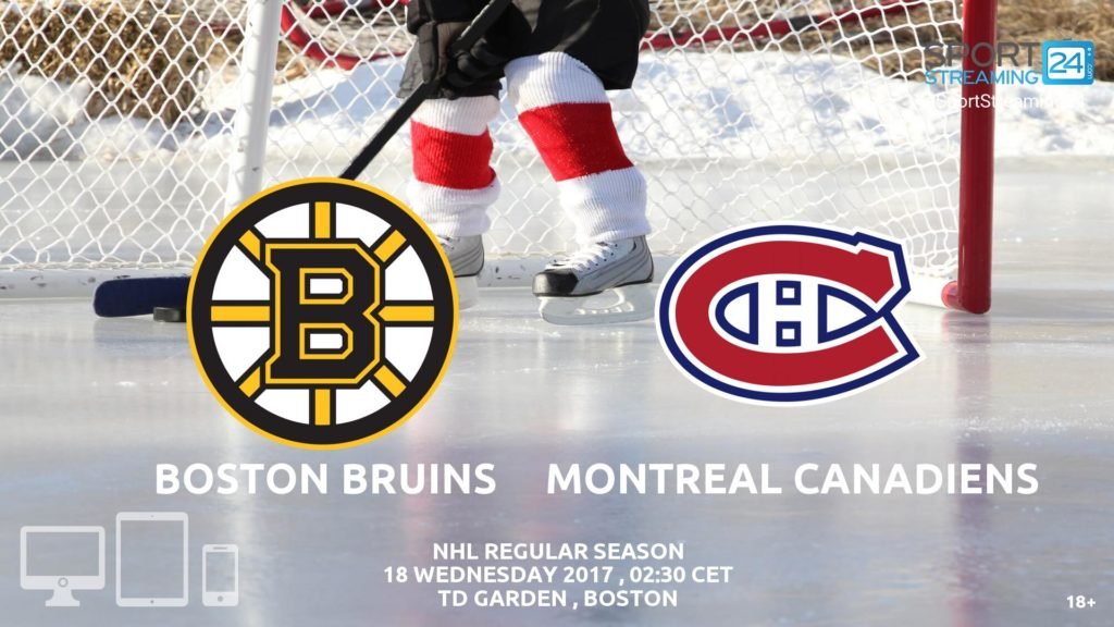 Thumbnail image for Boston Bruins v Montreal Canadiens Live Stream