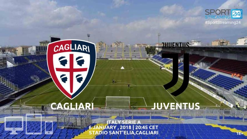 watch cagliari juventus live stream free video