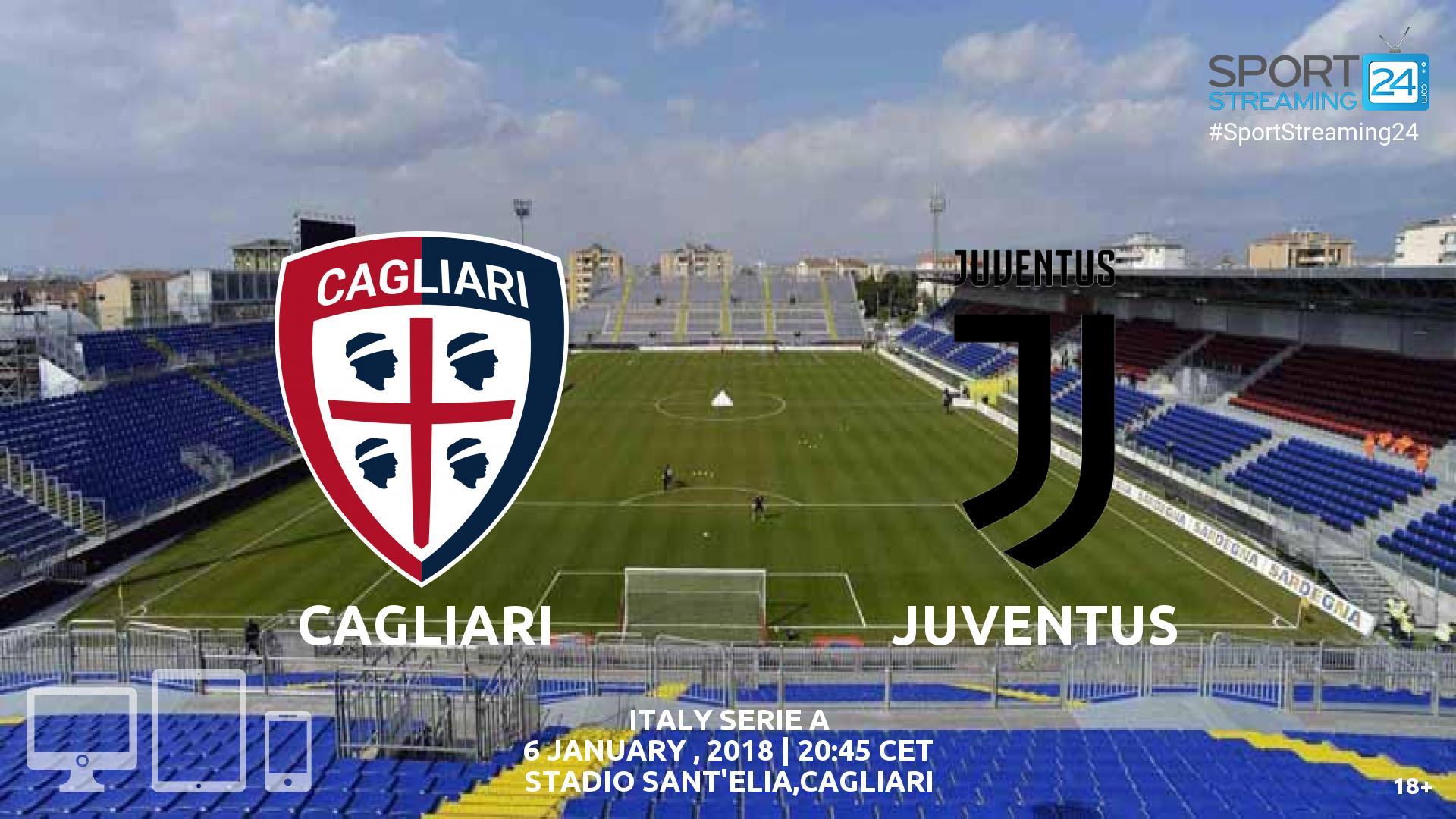 Cagliari v Juventus Live Stream | SportStreaming24