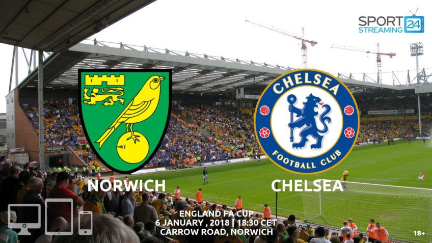 norwich chelsea live free streaming video
