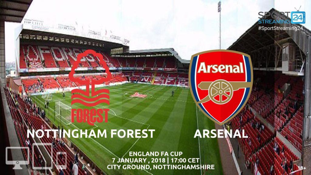 Thumbnail image for Nottingham Forest v Arsenal Live Stream
