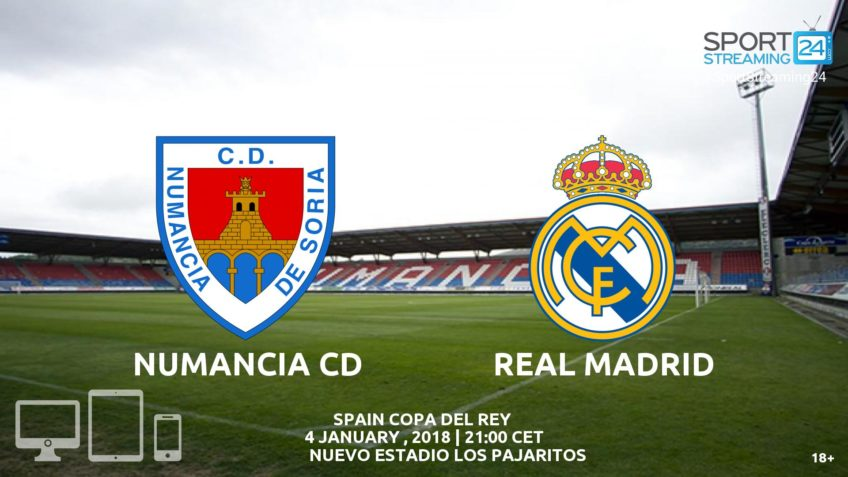 numancia real madrid live stream video free