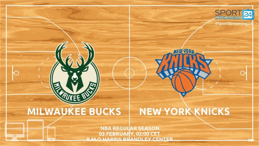 Thumbnail image for Milwaukee Bucks v NY Knicks Live Stream | NBA Preview