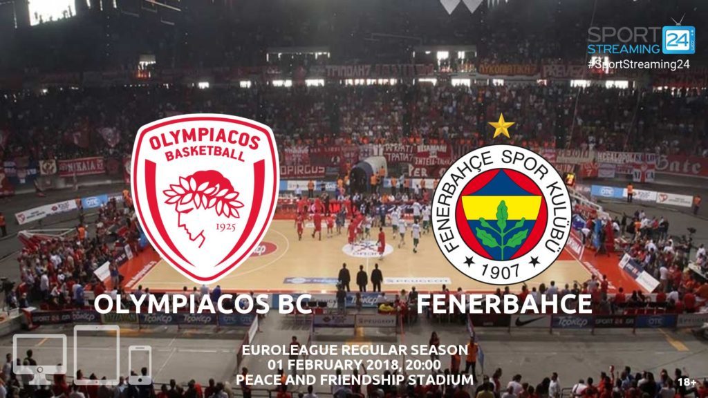 Thumbnail image for Olympiacos v Fenerbahce live Stream | Euroleague Preview