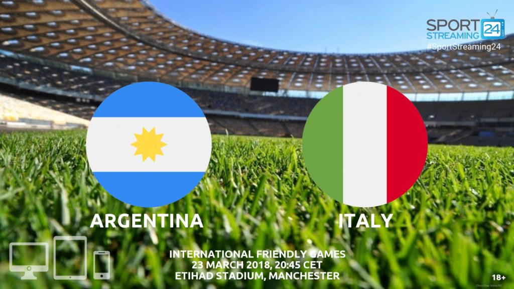 Thumbnail image for Argentina v Italy Live Streaming | International Match Friendly