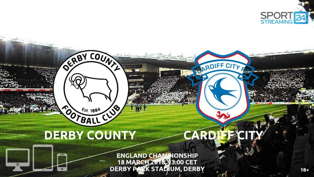 Thumbnail image for Derby County v Cardiff City Live Stream | Championship Match Review