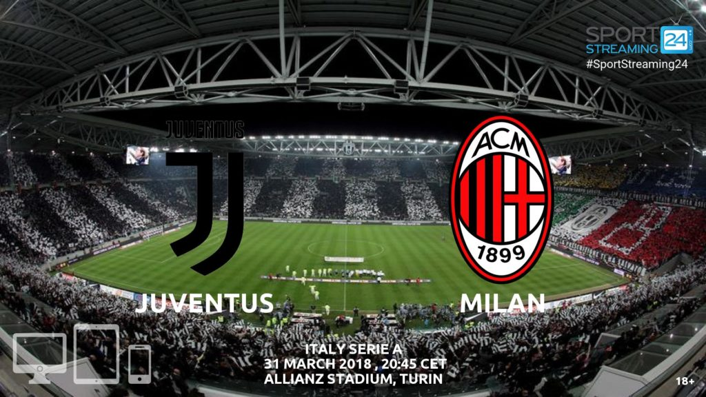 Thumbnail image for Juventus v Milan Live Streaming | Serie A Preview