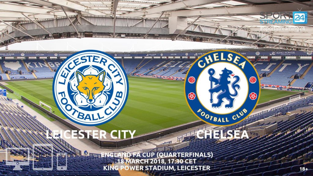 Thumbnail image for Leicester v Chelsea Live Streaming FA Cup