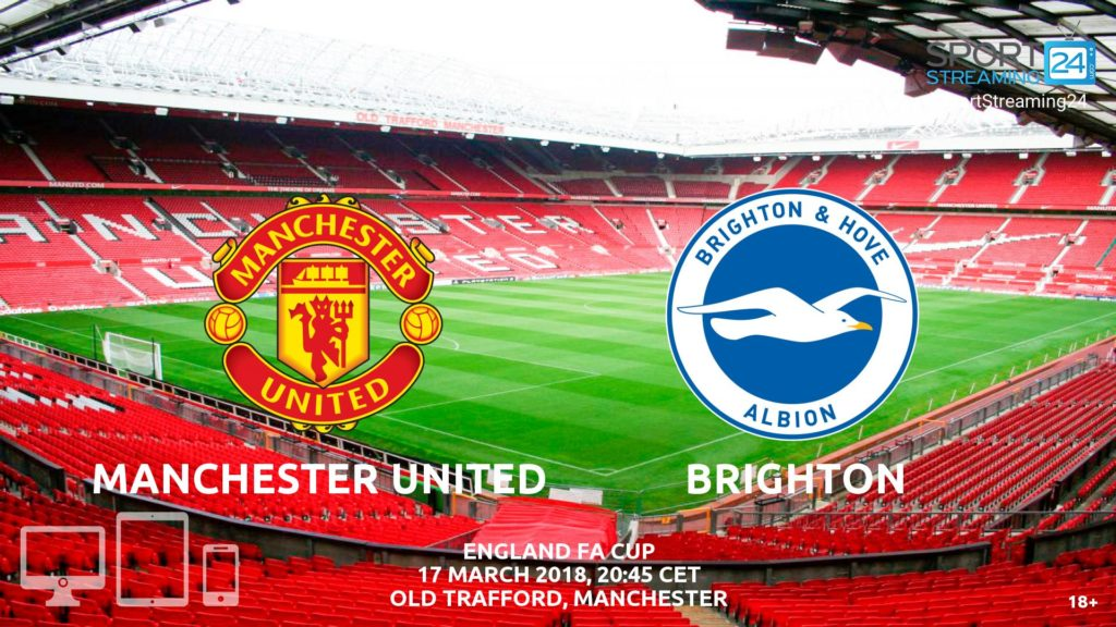 Thumbnail image for Manchester United v Brighton Live Stream FA Cup