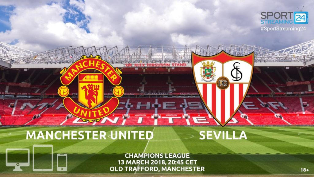 Thumbnail image for Manchester United v Sevilla Live Streaming News | Match Preview Champions League