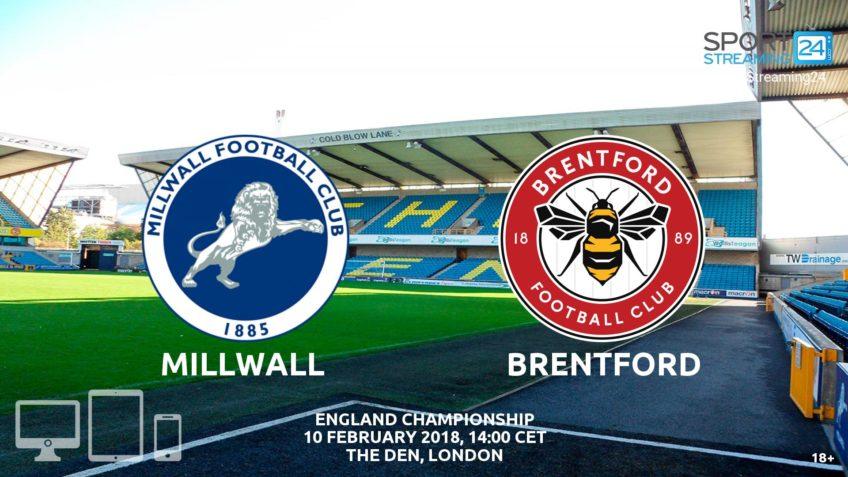 watch millwall brentford live stream video bet365