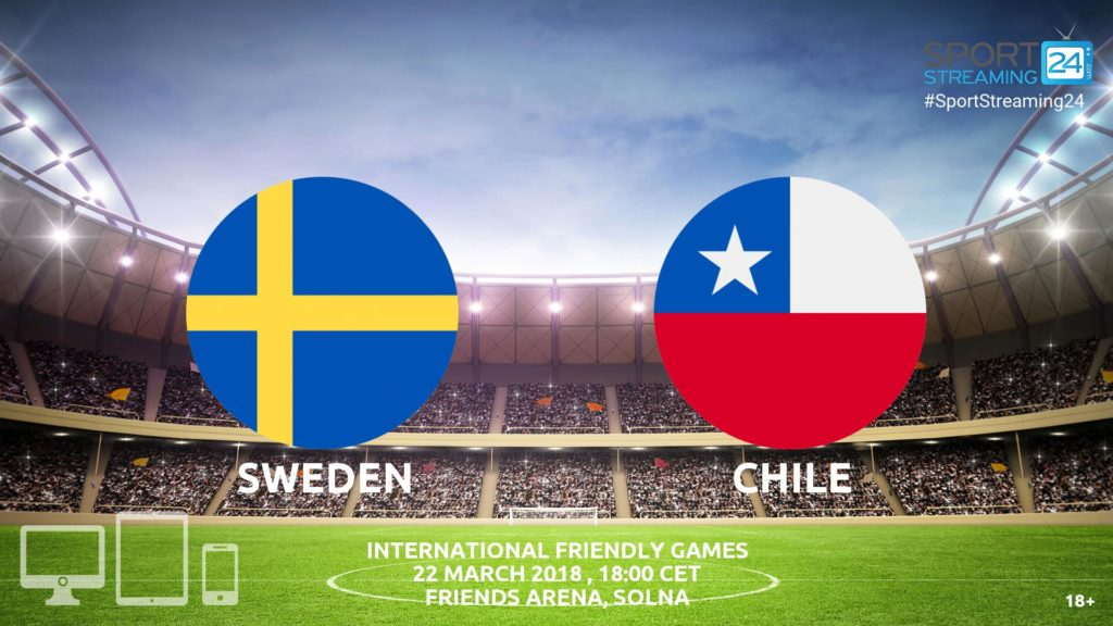 Thumbnail image for Sweden v Chile Live Stream | International Match