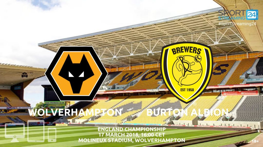 Thumbnail image for Wolves v Burton Albion Live Stream | Championship Match Review