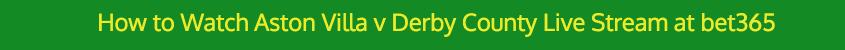aston villa derby live stream video bet365