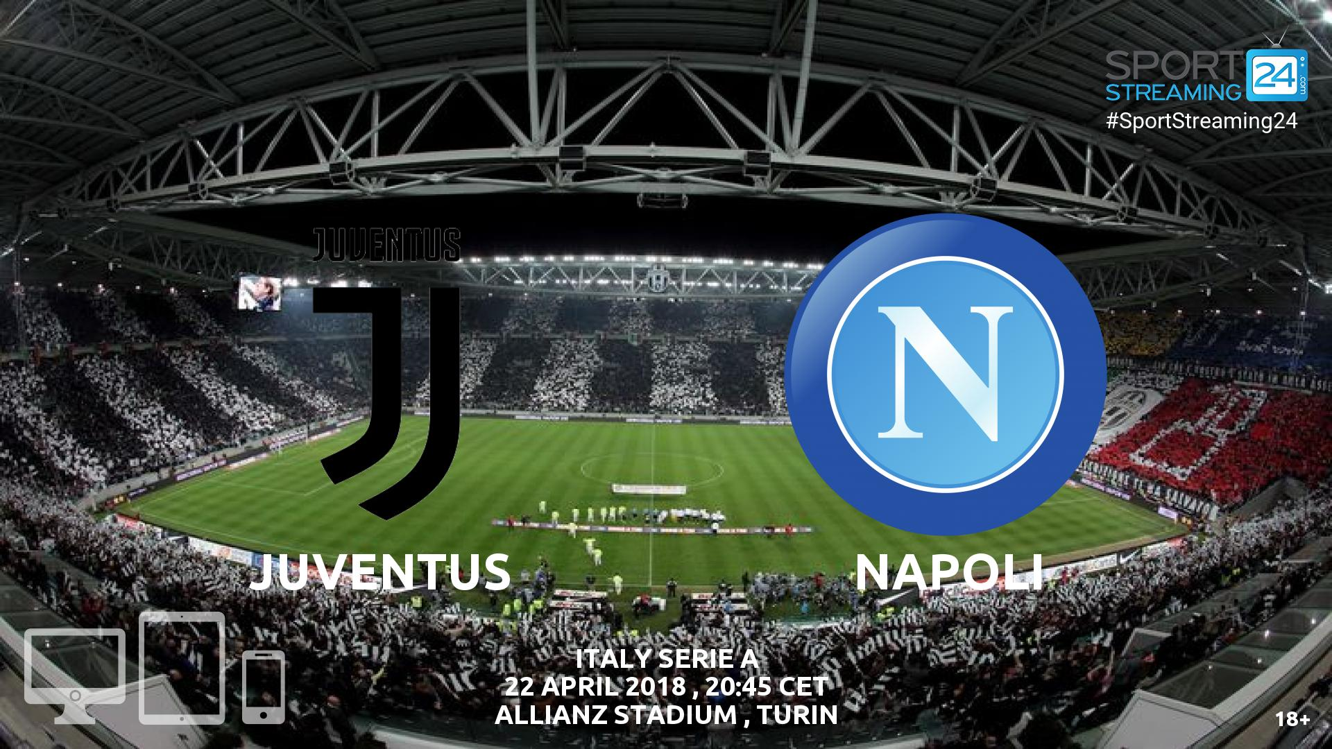 juventus napoli live streaming serie a sportstreaming24. Black Bedroom Furniture Sets. Home Design Ideas