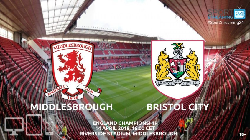 watch Middlesbrough Bristol City live stream