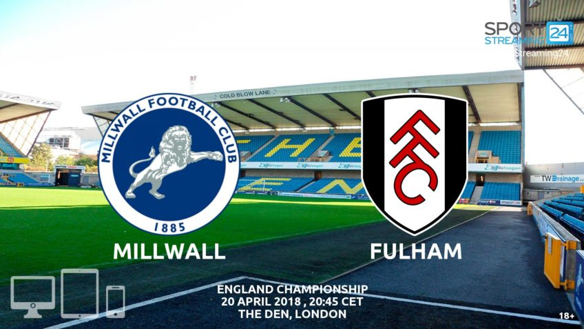 watch Millwall Fulham live streaming video bet365