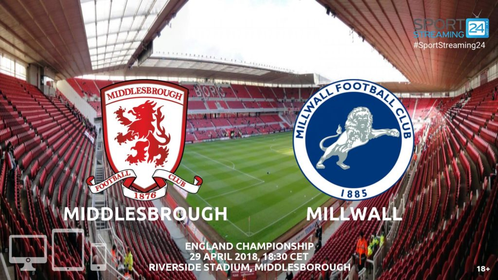 Thumbnail image for Middlesbrough v Millwall Live Stream Championship