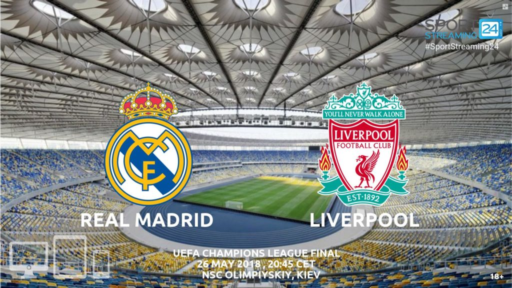 Thumbnail image for Real Madrid v Liverpool Live Stream Betting Odds | Champions League Final