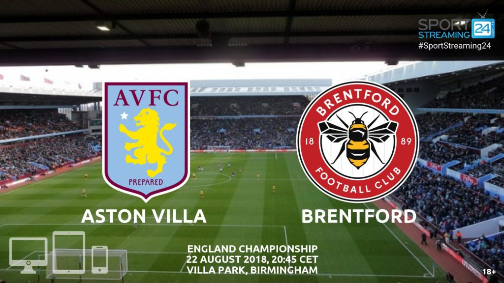 Thumbnail image for Aston Villa v Brentford Live Streaming Championship
