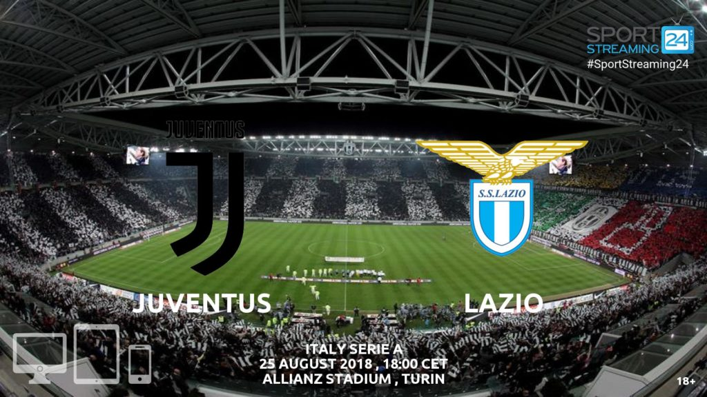 Thumbnail image for Juventus v Lazio Live Streaming Serie A