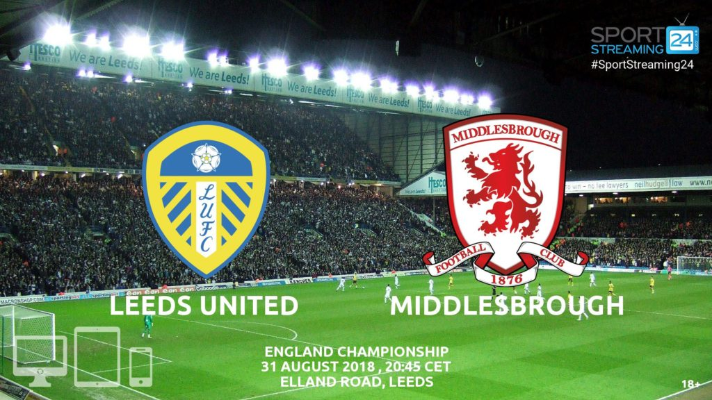 Thumbnail image for Leeds v Middlesbrough Live Stream Championship