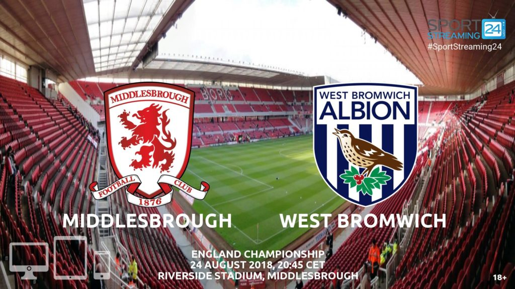 Thumbnail image for Middlesbrough v West Bromwich Live Stream Championship