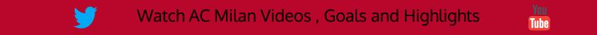 milan goals highlights HD twitter youtube