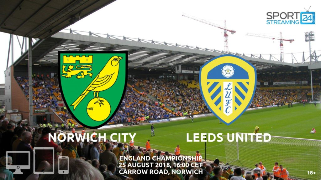 Thumbnail image for Norwich Leeds Live Streaming Championship
